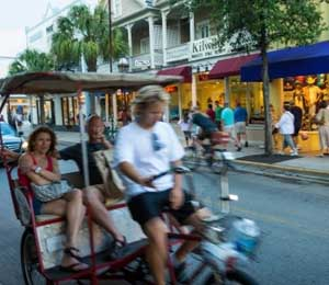Duval Street in Key West