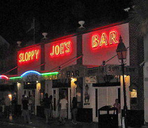 Key West Historic Places: Sloppy Joe's