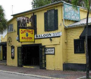 Key West Historic Places: Captain Tony's Saloon