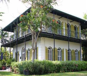 Key West Historic Places: Hemingway House