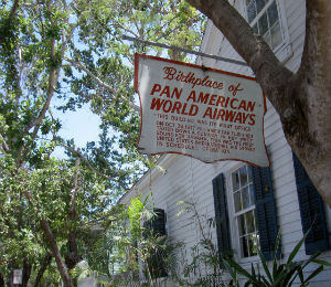 Key West Historic Places: Birthplace of Pan Am